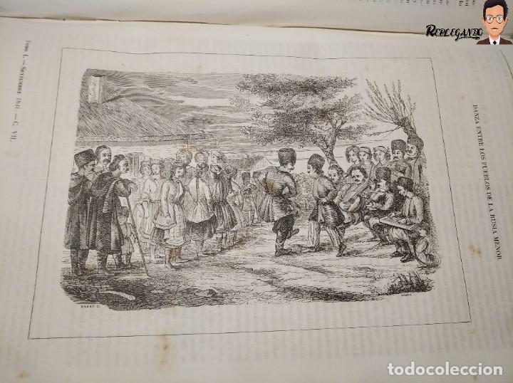 Libros antiguos: ÁLBUM PINTORESCO UNIVERSAL (1842) TOMO PRIMERO - SIGLO XIX - EDITOR FRANCISCO OLIVA - BARCELONA - Foto 22 - 241730585