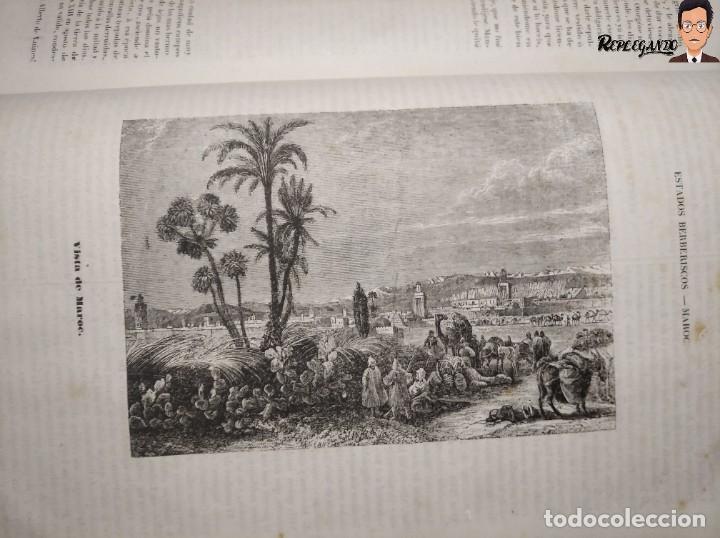 Libros antiguos: ÁLBUM PINTORESCO UNIVERSAL (1842) TOMO PRIMERO - SIGLO XIX - EDITOR FRANCISCO OLIVA - BARCELONA - Foto 27 - 241730585
