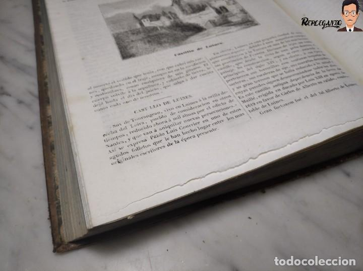 Libros antiguos: ÁLBUM PINTORESCO UNIVERSAL (1842) TOMO PRIMERO - SIGLO XIX - EDITOR FRANCISCO OLIVA - BARCELONA - Foto 28 - 241730585