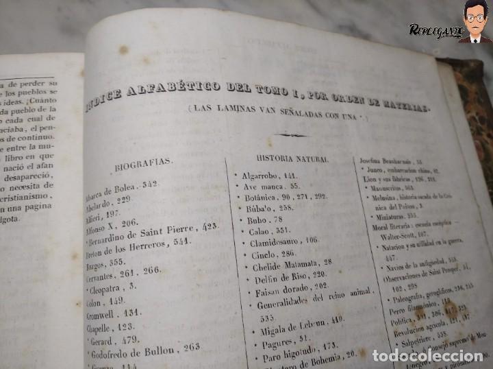 Libros antiguos: ÁLBUM PINTORESCO UNIVERSAL (1842) TOMO PRIMERO - SIGLO XIX - EDITOR FRANCISCO OLIVA - BARCELONA - Foto 29 - 241730585