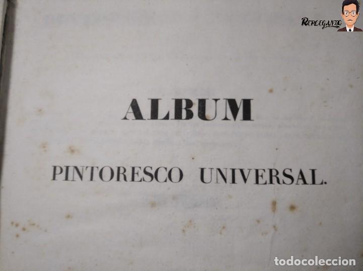 Libros antiguos: ÁLBUM PINTORESCO UNIVERSAL (1842) TOMO PRIMERO - SIGLO XIX - EDITOR FRANCISCO OLIVA - BARCELONA - Foto 38 - 241730585