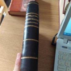 Libros antiguos: COLECCION DE TROZOS EN PROSA Y VERSO. EDUARDO SANCHEZ, IMP. SUC. DE ARNAIZ, 1892. Lote 241858295