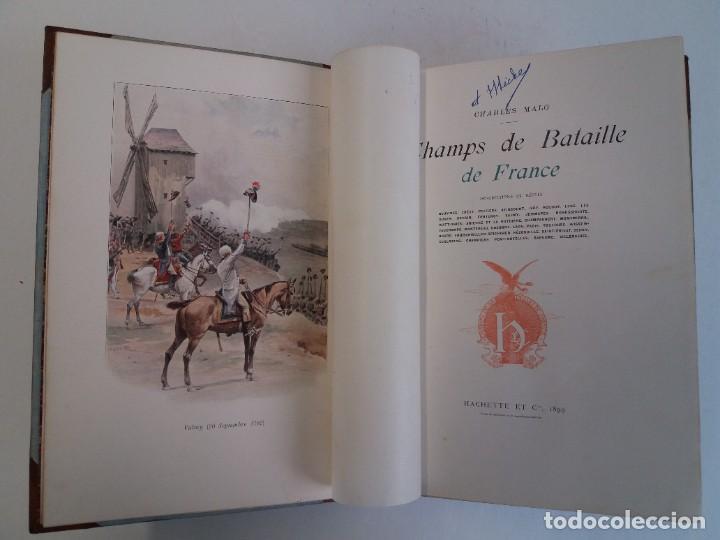 Libros antiguos: EXCELENTE Y PRECIOSO LIBRO LOS CAMPOS DE BATALLA DE FRANCIA MODERNISTA MAS DE 120 AÑOS - Foto 18 - 241953365