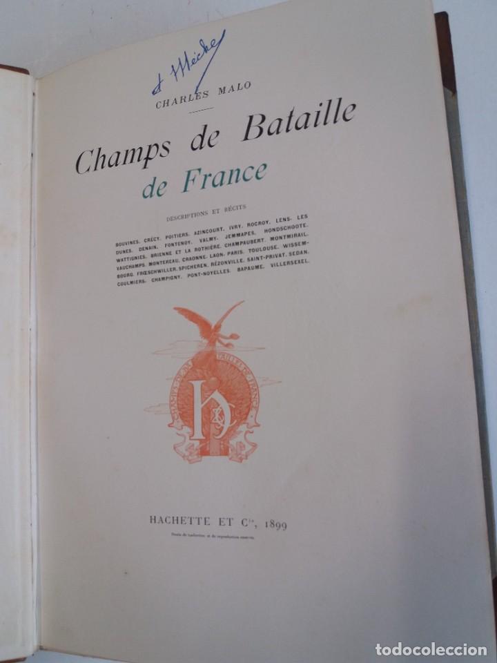 Libros antiguos: EXCELENTE Y PRECIOSO LIBRO LOS CAMPOS DE BATALLA DE FRANCIA MODERNISTA MAS DE 120 AÑOS - Foto 20 - 241953365