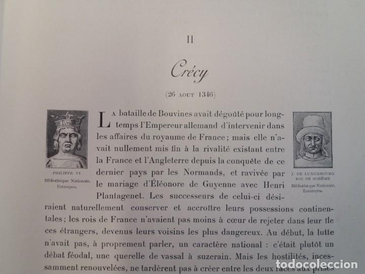 Libros antiguos: EXCELENTE Y PRECIOSO LIBRO LOS CAMPOS DE BATALLA DE FRANCIA MODERNISTA MAS DE 120 AÑOS - Foto 25 - 241953365