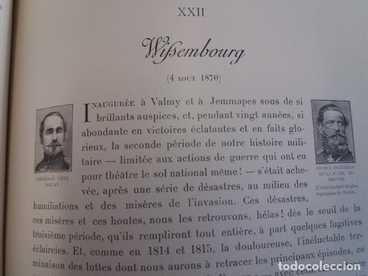 Libros antiguos: EXCELENTE Y PRECIOSO LIBRO LOS CAMPOS DE BATALLA DE FRANCIA MODERNISTA MAS DE 120 AÑOS - Foto 83 - 241953365