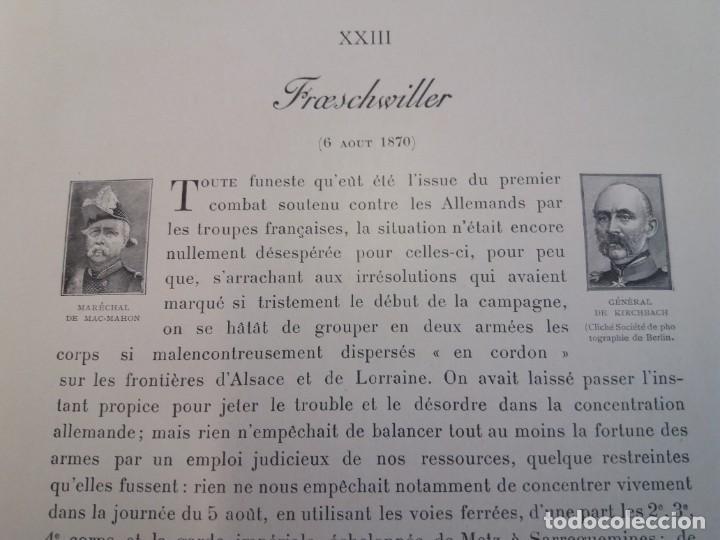 Libros antiguos: EXCELENTE Y PRECIOSO LIBRO LOS CAMPOS DE BATALLA DE FRANCIA MODERNISTA MAS DE 120 AÑOS - Foto 86 - 241953365