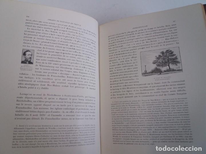 Libros antiguos: EXCELENTE Y PRECIOSO LIBRO LOS CAMPOS DE BATALLA DE FRANCIA MODERNISTA MAS DE 120 AÑOS - Foto 87 - 241953365