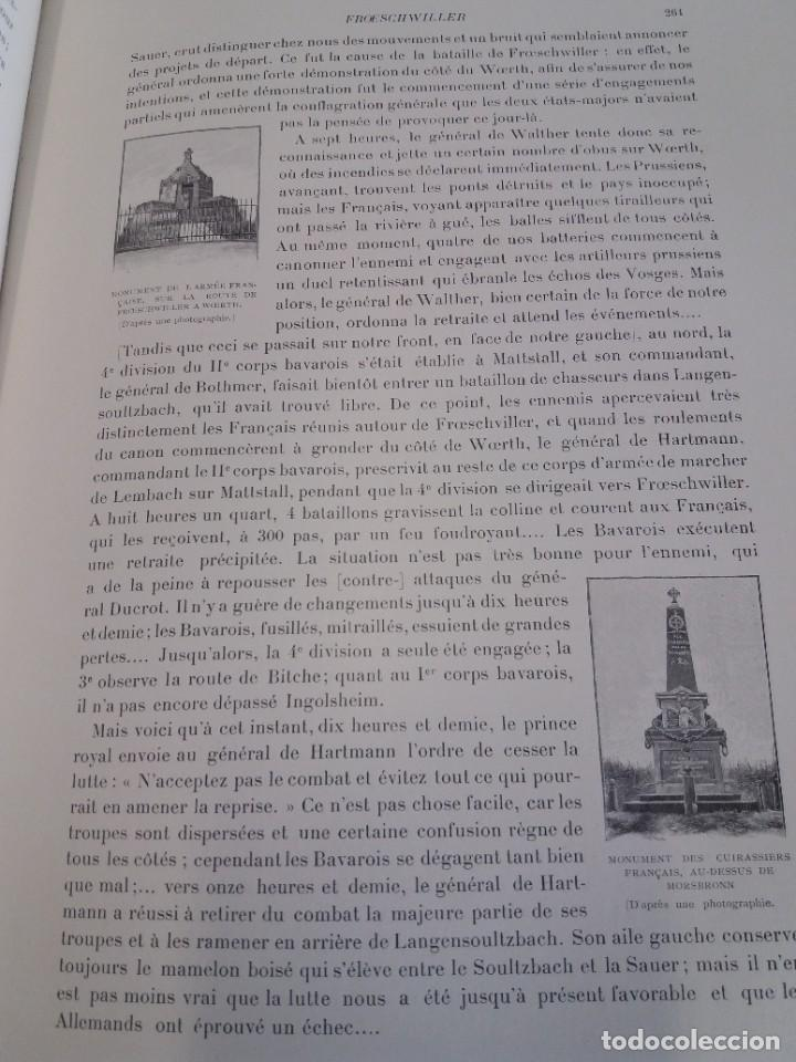 Libros antiguos: EXCELENTE Y PRECIOSO LIBRO LOS CAMPOS DE BATALLA DE FRANCIA MODERNISTA MAS DE 120 AÑOS - Foto 89 - 241953365