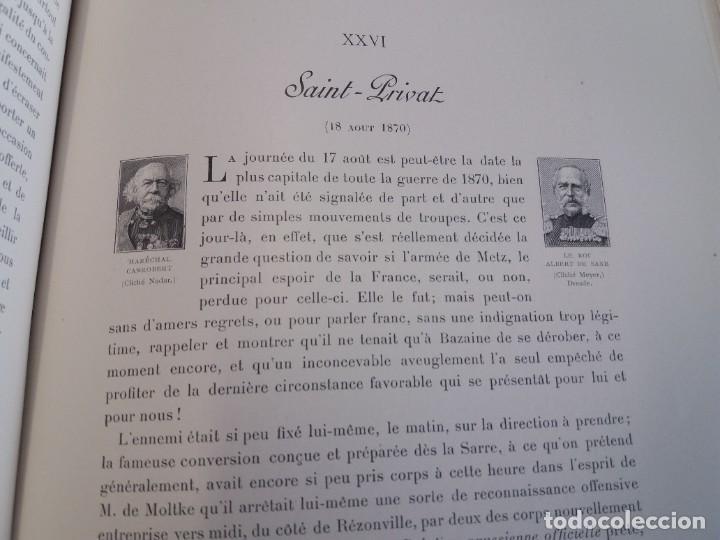 Libros antiguos: EXCELENTE Y PRECIOSO LIBRO LOS CAMPOS DE BATALLA DE FRANCIA MODERNISTA MAS DE 120 AÑOS - Foto 99 - 241953365