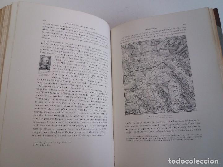 Libros antiguos: EXCELENTE Y PRECIOSO LIBRO LOS CAMPOS DE BATALLA DE FRANCIA MODERNISTA MAS DE 120 AÑOS - Foto 100 - 241953365