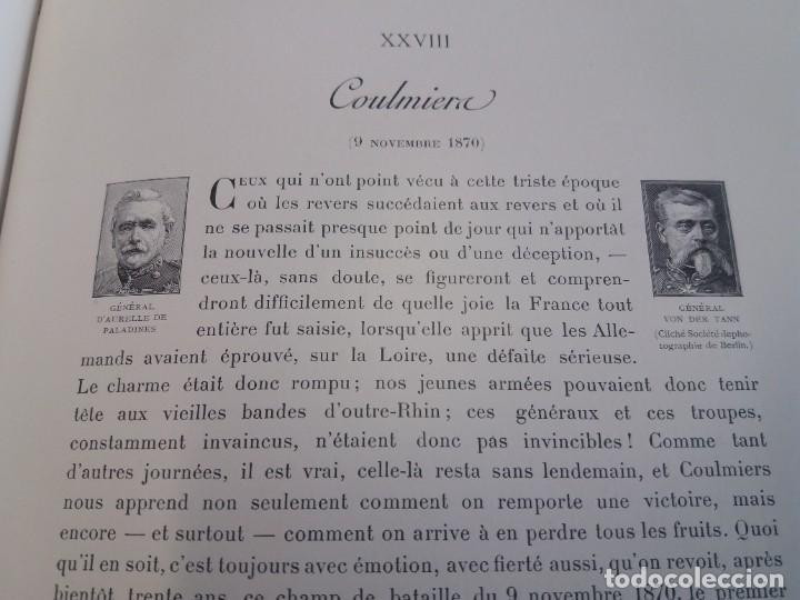 Libros antiguos: EXCELENTE Y PRECIOSO LIBRO LOS CAMPOS DE BATALLA DE FRANCIA MODERNISTA MAS DE 120 AÑOS - Foto 108 - 241953365