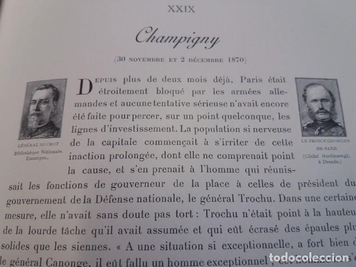 Libros antiguos: EXCELENTE Y PRECIOSO LIBRO LOS CAMPOS DE BATALLA DE FRANCIA MODERNISTA MAS DE 120 AÑOS - Foto 110 - 241953365