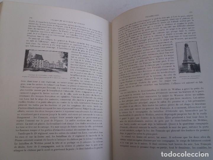 Libros antiguos: EXCELENTE Y PRECIOSO LIBRO LOS CAMPOS DE BATALLA DE FRANCIA MODERNISTA MAS DE 120 AÑOS - Foto 117 - 241953365