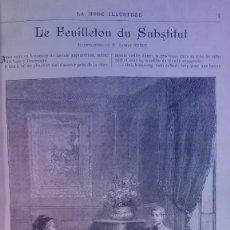 Libros antiguos: CURIOSO Y ATRACTIVO LIBRO LA MODA ILUSTRADA MAS DE 120 AÑOS NOVELAS. Lote 241961700