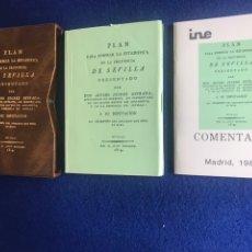 Libros antiguos: PLAN PARA FORMAR LA ESTADÍSTICA DE LA PROVINCIA DE SEVILLA 1814. Lote 242282215