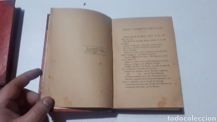 Libros antiguos: ORAN Y MAZALQUIVIR FEDERICO OBANOS ALCALA DEL OLMO CARTAGENA LEVANTINA DE ARTES GRÁFICAS 1912 - Foto 2 - 242370050