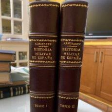 Libros antiguos: BOSQUEJO DE LA HISTORIA MILITAR DE ESPAÑA HASTA FIN DEL SIGLO XVIII. Lote 242982785
