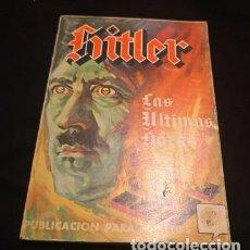 Livros antigos: HITLER PUBLICACIÓN PARA ADULTOS. Lote 146649222
