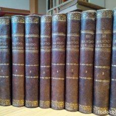 Libros antiguos: EL BANDOLERISMO. ESTUDIO SOCIAL Y MEMORIAS HISTÓRICAS. UNA JOYA. OBRA COMPLETA. Lote 243439735
