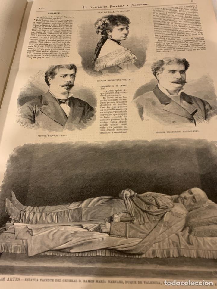 Libros antiguos: La ilustración española y americana año 1879, primera parte - Foto 3 - 243441240