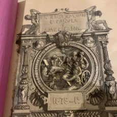 Libros antiguos: LA ILUSTRACIÓN ESPAÑOLA Y AMERICANA AÑO 1879, PRIMERA PARTE. Lote 243441240