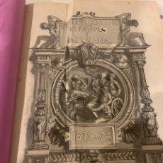 Libros antiguos: LA ILUSTRACIÓN ESPAÑOLA Y AMERICANA AÑO 1879 SEGUNDA PARTE. Lote 243443420
