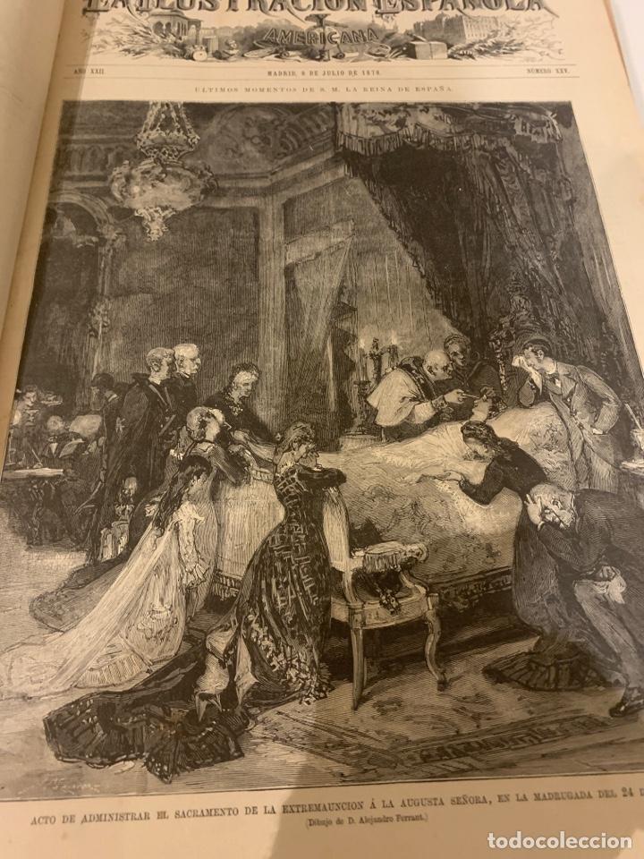 Libros antiguos: La ilustración española y americana año 1878 segunda parte - Foto 2 - 243444200