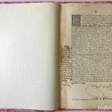 Libros antiguos: EN EL REPARTIMIENTO EXECUTADO POR LA CONTADURIA PRINCIPAL DE ESTE EXERCITO, Y REYNO, PARA EL.... Lote 243536400