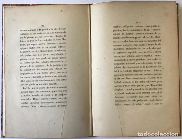 Libros antiguos: ORACION QUE, EN LA FUNCION RELIGIOSA CELEBRADA EN MONTSERRAT EL DIA 1º DE OCTUBRE DE 1860 con... - Foto 3 - 243539155