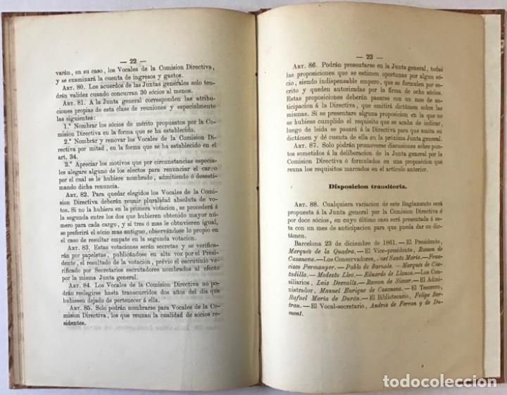 Libros antiguos: ORACION QUE, EN LA FUNCION RELIGIOSA CELEBRADA EN MONTSERRAT EL DIA 1º DE OCTUBRE DE 1860 con... - Foto 7 - 243539155
