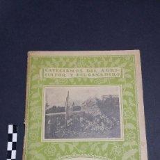 Libros antiguos: CATECISMOS DEL AGRICULTOR Y EL GANADERO. CULTIVO DE CEBOLLAS Y AJOS, Nº 130, EDITORIAL CALPE.. Lote 243777845