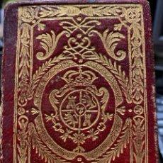 Libros antiguos: CALENDARIO MANUAL Y GUÍA DE FORASTEROS. Lote 243796080