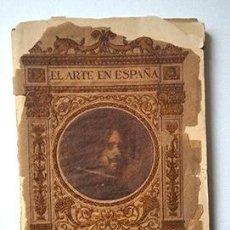 Libros antiguos: EL ARTE EN ESPAÑA Nº 6, VELÁZQUEZ EN EL MUSEO DEL PRADO. Lote 243818620