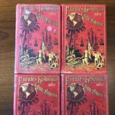 Libros antiguos: FUENTES HISTORICAS SOBRE COLON Y AMERICA.P.MARTIR ANGLERIA.MADRID 1892.EDICION COMPLETA. Lote 243821070