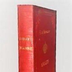 Libros antiguos: F. FERNANDEZ DE BETHENCOURT ... ANALES DE LA NOBLEZA DE ESPAÑA. ANUARIO DE 1890 ... 1890. Lote 243896135