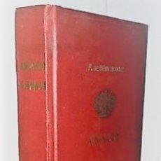 Libros antiguos: F. FERNANDEZ DE BETHENCOURT ... ANALES DE LA NOBLEZA DE ESPAÑA. ANUARIO PRIMERO 1880 ... 1880. Lote 243896890