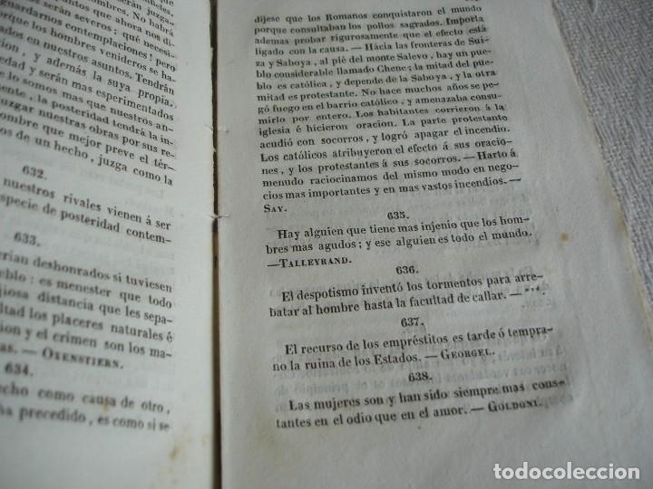 Libros antiguos: El libro de los libros o ramillete de máximas - Foto 7 - 243921940