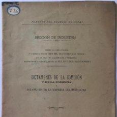 Libri antichi: SOBRE LA EXPLOTACIÓN Y COLONIZACIÓN DE CIEN MIL HECTÁREAS DE TERRENO EN LA ISLA DE LA PARAGUA.... Lote 243970335
