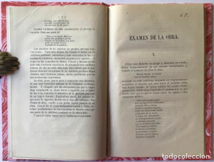 Libros antiguos: UNA JOYA DESCONOCIDA DE CALDERON. Estudio acerca de ella. - CASTRO Y ROSSI, Adolfo de. - Foto 2 - 243990515