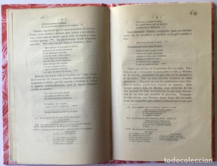 Libros antiguos: UNA JOYA DESCONOCIDA DE CALDERON. Estudio acerca de ella. - CASTRO Y ROSSI, Adolfo de. - Foto 4 - 243990515