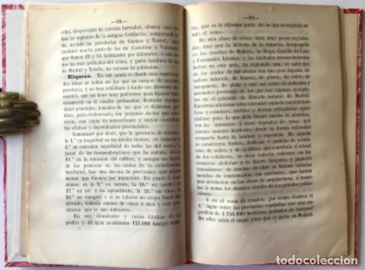 Libros antiguos: INFORME DEL EXCMO. SR. D. FERMIN CABALLERO, SOBRE LA LINEA DEL ESTE DEL PLAN GENERAL DE FERRO-... - Foto 3 - 243996170