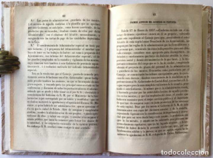 Libros antiguos: REAL RESOLUCION Y DOCUMENTOS IMPORTANTES DEL ESPEDIENTE DE CONCURSO ADMINISTRATIVO DE LOS... - Foto 4 - 243997105