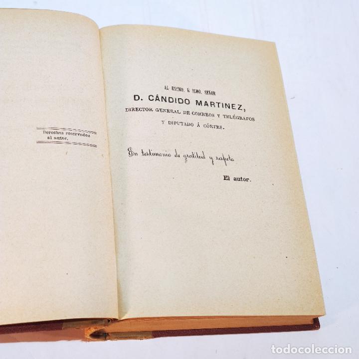 Libros antiguos: La exposición internacional de la electricidad y congreso de electricistas. Eduardo Vicenti. 1882. - Foto 2 - 244000940