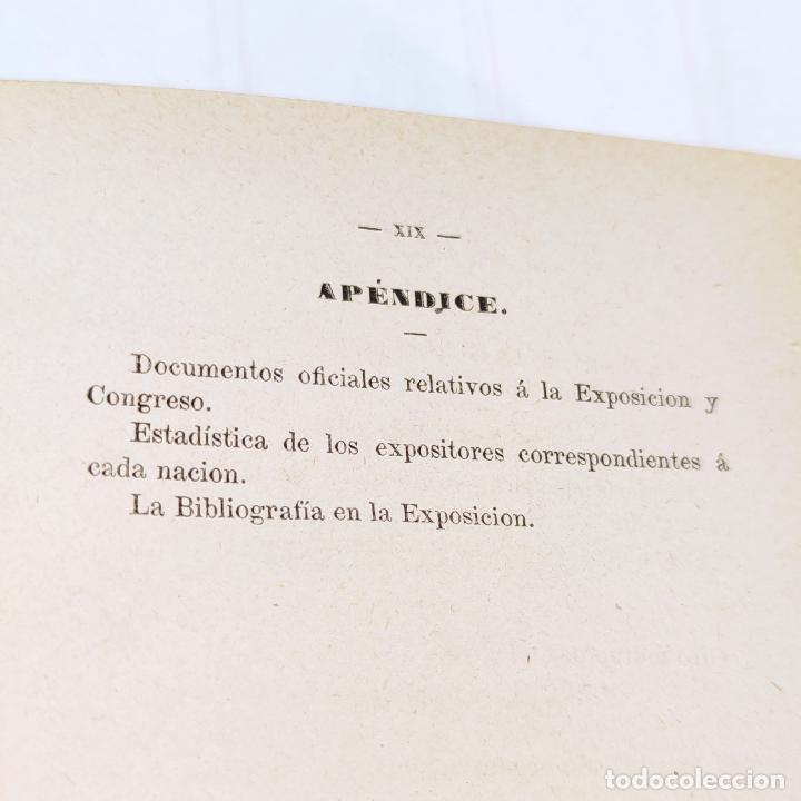 Libros antiguos: La exposición internacional de la electricidad y congreso de electricistas. Eduardo Vicenti. 1882. - Foto 10 - 244000940