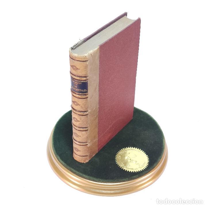 LA EXPOSICIÓN INTERNACIONAL DE LA ELECTRICIDAD Y CONGRESO DE ELECTRICISTAS. EDUARDO VICENTI. 1882. (Libros Antiguos, Raros y Curiosos - Ciencias, Manuales y Oficios - Otros)