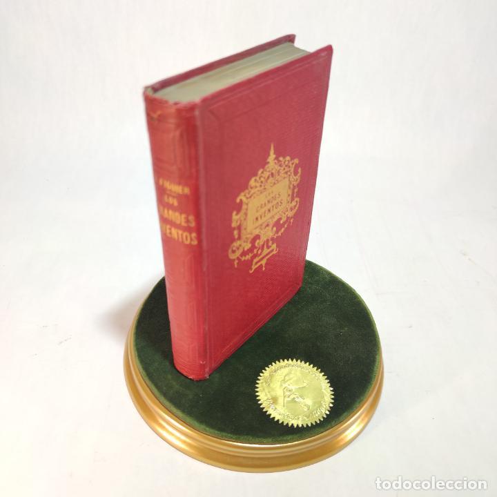 LOS GRANDES INVENTOS CIENTÍFICOS E INDUSTRIALES EN LOS PUEBLOS ANTIGUOS Y MODERNOS.LUIS FIGUIER.1861 (Libros Antiguos, Raros y Curiosos - Ciencias, Manuales y Oficios - Otros)