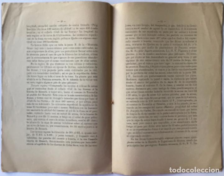 Libros antiguos: DUNAS. - ARTIGAS Y TEIXIDOR, Primitivo. - Foto 3 - 244006850