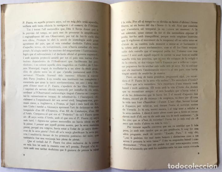 Libros antiguos: ORACIÓ fúnebre pronunciada a la parròquia dArtés el dia 24 de maig de 1930 a la... - PEYPOCH (S.J.) - Foto 4 - 244011820