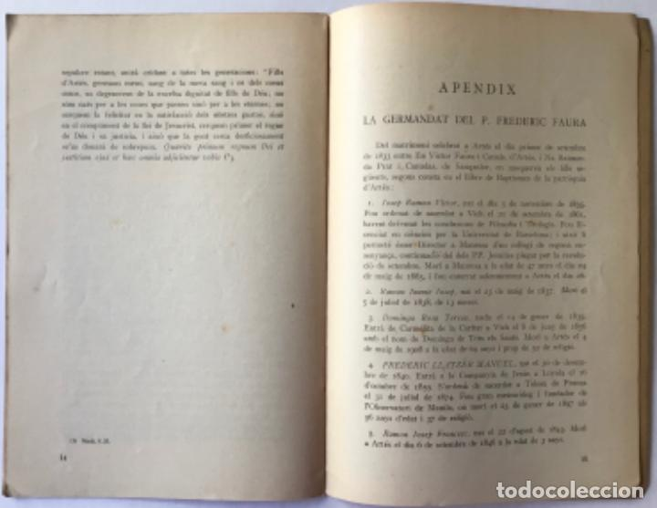 Libros antiguos: ORACIÓ fúnebre pronunciada a la parròquia dArtés el dia 24 de maig de 1930 a la... - PEYPOCH (S.J.) - Foto 5 - 244011820